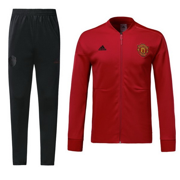 Chandal Manchester United 2018-19 Rojo Negro