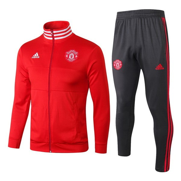 Chandal Manchester United 2018-19 Rojo Gris