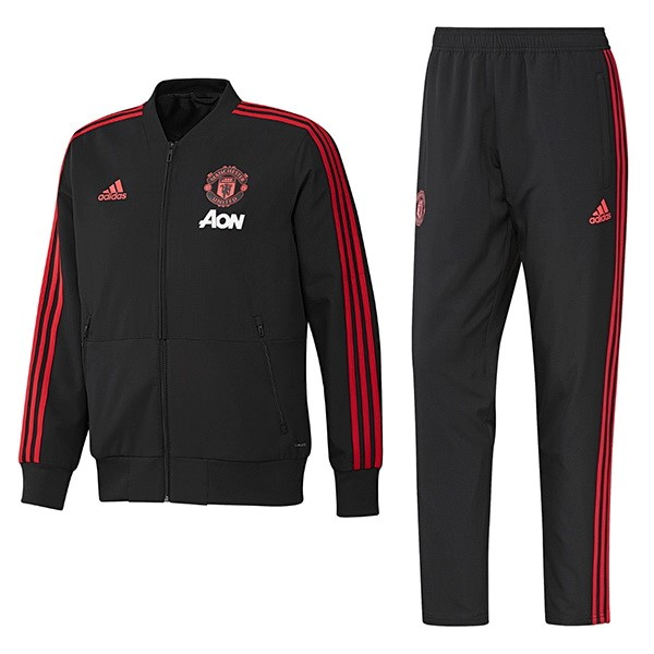 Chandal Manchester United 2018-19 Negro Rojo