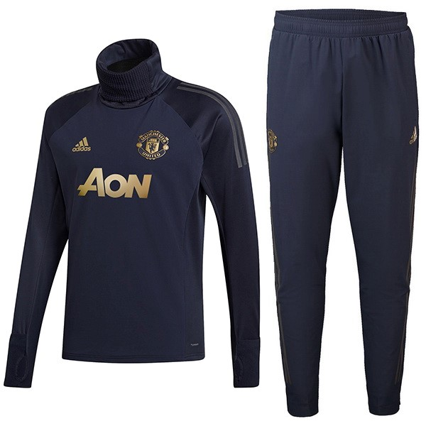 Chandal Manchester United 2018-19 Azul Oro