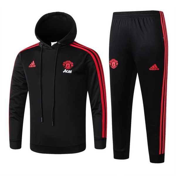 Chandal Niños Manchester United 2018-19 Negro