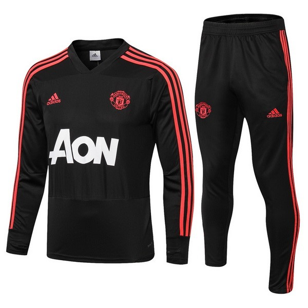 Chandal Manchester United 2018-19 Rojo Negro Blanco