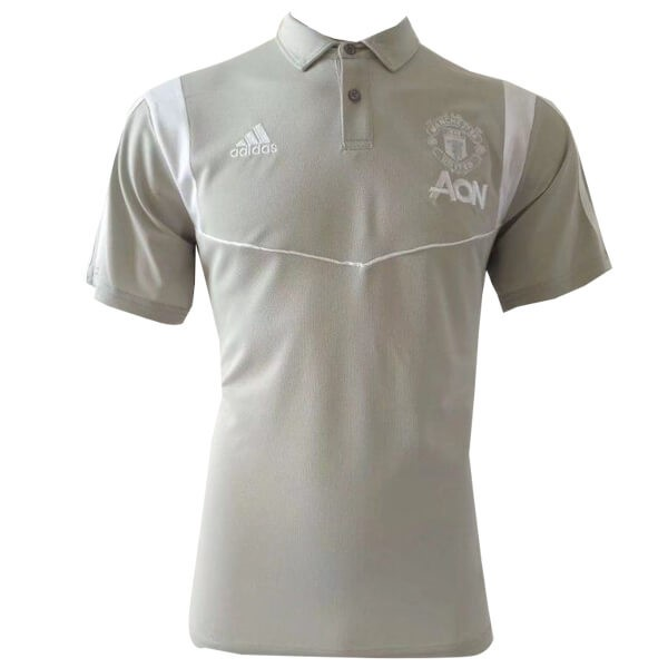Polo Manchester United 2019-20 Gris