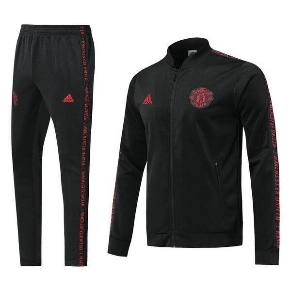 Chandal Manchester United 2019-20 Negro Rojo