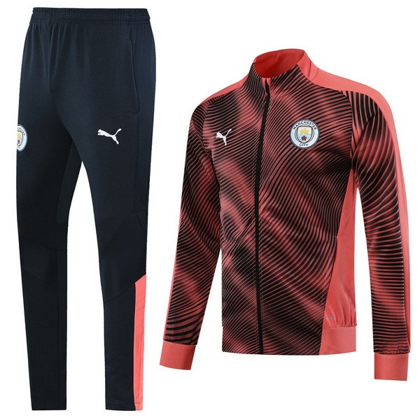 Chandal Manchester City 2019-20 Rojo Negro