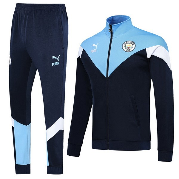 Chandal Manchester City 2019-20 Azul Blanco