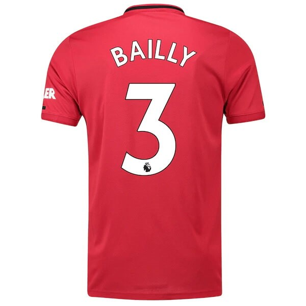 Camiseta Manchester United NO.3 Bailly Primera equipo 2019-20 Rojo