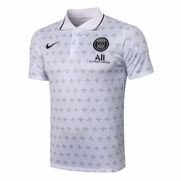 Polo Paris Saint Germain 2021-22 Blanco