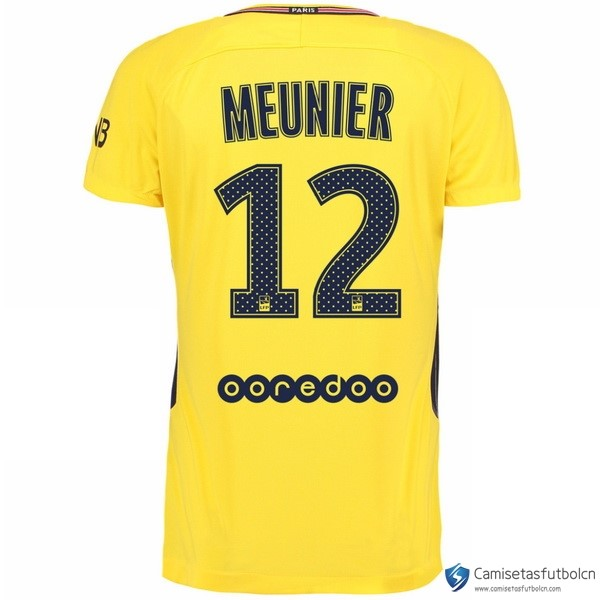 Camiseta Paris Saint Germain Segunda equipo Meunier 2017-18
